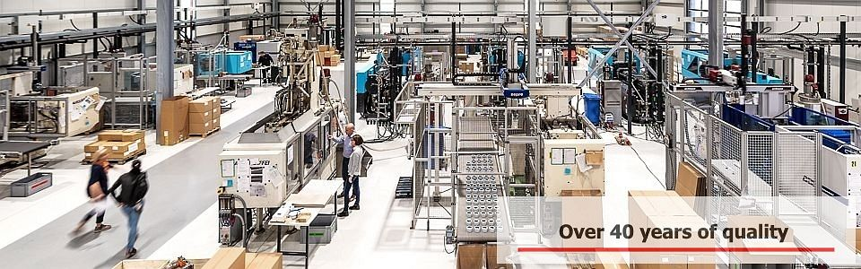 the new production hall of the ikusto GmbH
